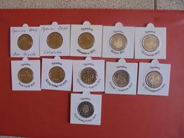 LOT De 2 EURO ESPAGNE 11 DIFFERENTES  2005-18 QUALITE UNC - EURO