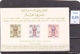 Sudan  -  Hoja Bloque Serie Completa  NO Dentada  - 4/1901 - Sudan (1954-...)