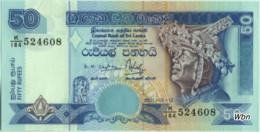 Sri-Lanka 50 Rupees (P117) 2001 -UNC- - Sri Lanka