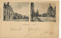 Pionnière Montdidier La Place  Edit Du Baille Timbrée Type Sage  1900 - Montdidier