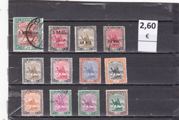 Sudan  -  Lote  12  Sellos Diferentes   - 4/1909 - Sudan (1954-...)