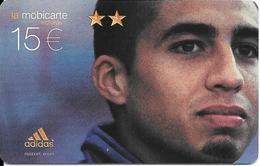 CARTE-PREPAYEE-MOBICARTE- PU 231C-15€;-05/2004-TREZEGUET- CODE IMPRIME-TBE - France