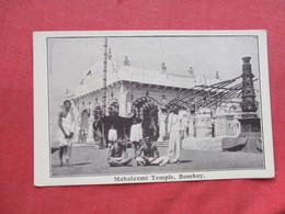 Mahalaxmi Temple Bombay  India Ref 3271 - India