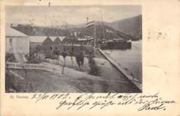 St.Thomas Dänische Insel In D.Karibik Hafen 1902 AKS - Denemarken