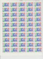 Faciale 19 Eur ; Feuille De 50 Tbs à 2.50 Fr N° 2696 (cote 65 Euros) - Feuilles Complètes
