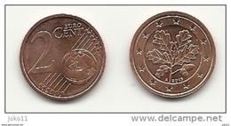 2 Cent, 2013, Prägestätte (A) Vz, Sehr Gut Erhaltene Umlaufmünze - Allemagne