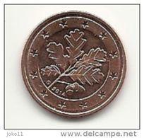 2 Cent, 2014, Prägestätte (G) Vz, Sehr Gut Erhaltene Umlaufmünze - Deutschland