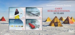 Australian Antarctic 2019 Casey Research Station 50 Years Minisheet MNH - Unused Stamps
