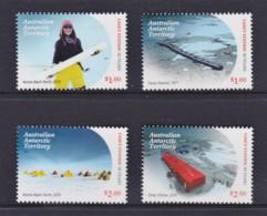 Australian Antarctic 2019 Casey Research Station 50 Years Set Of 4 MNH - Australian Antarctic Territory (AAT)