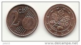 2 Cent, 2014, Prägestätte (A) Vz, Sehr Gut Erhaltene Umlaufmünze - Deutschland