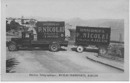 "(CORSE) AJACCIO ""NICOLAI TRANSPORT"" - Ajaccio"