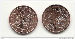 2 Cent, 2016, Prägestätte (A) Vz, Sehr Gut Erhaltene Umlaufmünze - Deutschland