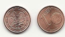 1 Cent, 2018,  Prägestätte (J),  Vz, Sehr Gut Erhaltene Umlaufmünzen - Germania