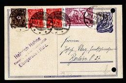A6085) DR Infla Karte Elbingerode 30.06.23 N. Berlin M. Mi.115 Ua. - Briefe U. Dokumente