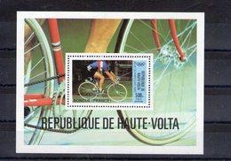 Haute Volta. Bloc Feuillet. Cyclisme. Bondue. Jeux Olympiques 1980 - Haute-Volta (1958-1984)