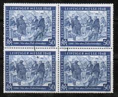 GERMANY  Scott # 582 VF USED BLOCK Of 4 (LG-1010) - [7] Federal Republic