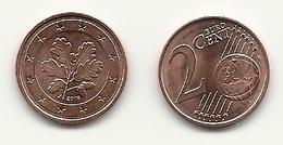 2 Cent, 2018, Prägestätte (J) Vz, Sehr Gut Erhaltene Umlaufmünze - Germania