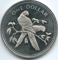 Belize - 1 Dollar - 1974 - Scarlet Macaw - KM43 - Belize