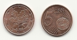 5 Cent, 2018, Prägestätte (A) Vz, Sehr Gut Erhaltene Umlaufmünze - Germania