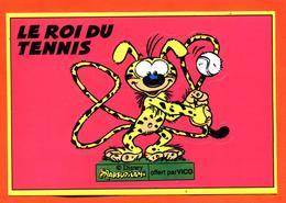 Autocollant Le Roi Du Tennis - Marsupilami - Adesivi