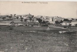 CPA  84 SAINT CHRISTOL D'ALBION VUE GENERALE - Saint Christol