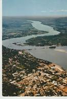 CP - PHOTO - RÉPUBLIQUE CENTRAFRICAINE - BANGUI - VUE AÉRIENNE - 3944 - HOA QUI - Centraal-Afrikaanse Republiek