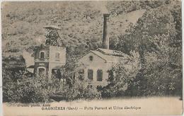 GAGNIERES Puits Parrant Et Usine Electrique - Other Municipalities