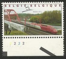 Belgium - 1999 Trains MNH ** - Unused Stamps