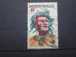 "VEND BEAU TIMBRE DE POLYNESIE N° 8 , OBLITERATION "" PAPEETE "" !!! - Polinesia Francese"