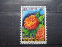"VEND BEAU TIMBRE DE POLYNESIE N° 15 , OBLITERATION "" PAPEETE "" !!! - Polinesia Francese"