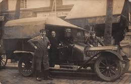 TRANSPORT .n°54449. Capot, Radiateur De-Dion-Bouton.Une Auto De Tourisme D'avant 1914, Transformée En Ut. Carte Photo - Postcards