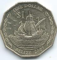 Belize - 1 Dollar - 2007 - Elizabeth II - 3rd Portrait - KM99 - Belize