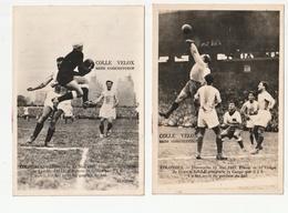 2 PHOTOS - FOOTBALL - COLOMBES - FINALE COUPE DE FRANCE 11 MAI 1947 - VAINQUEUR LILLE 2 A 0 - Football