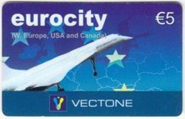 AUSTRIA E-866 Prepaid Vectone - Traffic, Airplane, Concord - Used - Autriche