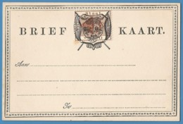 Orange Free State 1889 1d Postcard P6. - Orange Free State (1868-1909)