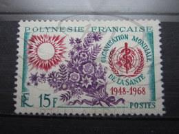 VEND BEAU TIMBRE DE POLYNESIE N° 60 !!! - Polinesia Francese