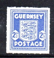 APR212 - GUERNSEY 1941 , Occupazione Tedesca Unificato N. 3 ***  MNH  (2380A) . - Guernesey