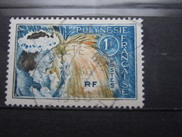"VEND BEAU TIMBRE DE POLYNESIE N° 27 , OBLITERATION "" PAPEETE "" !!! - Polinesia Francese"