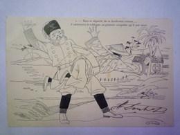 GP 2019 - 843  Illustrateur  N. SCHUSTER  :  ...il Administra La Chlague...1906   XXX - Autres Illustrateurs