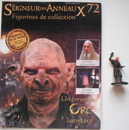 Figurine Le Seigneur Des Anneaux N°72 / Un Forgeron Orc à Isengard - El Señor De Los Anillos