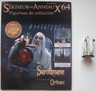 Figurine Le Seigneur Des Anneaux N°64 / Saroumane à La Tour D'orthanc - El Señor De Los Anillos
