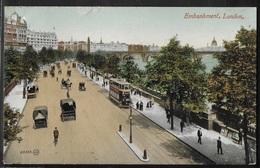 CPA ANGLETERRE - London, Embankment - River Thames