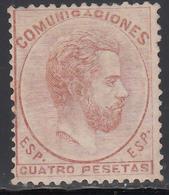 1872 Edifil Nº 128  /*/ - 1872-73 Reino: Amadeo I