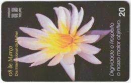 BRASIL H-667 Magnetic Telpe - Plant, Flower - Used - Brasilien