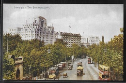 REPRODUCTION ANGLETERRE - London, The Embankment - River Thames
