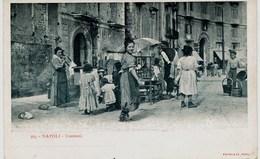 3349 - Italie :  NAPOLI  :  COSTUMI   -   VENDITORE AMBULANTE   -  1900 - Napoli (Naples)