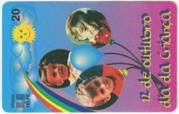 BRASIL H-721 Magnetic Telpe - People, Children - Used - Brasilien
