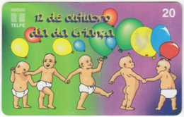 BRASIL H-723 Magnetic Telpe - People, Children - Used - Brasilien