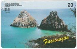 BRASIL H-733 Magnetic Telpe - Landscape, Coast - Used - Brasilien