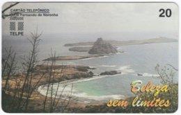 BRASIL H-734 Magnetic Telpe - Landscape, Coast - Used - Brasilien